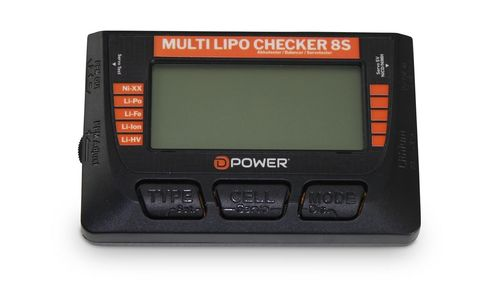 D-Power Multi Lipo Checker 8S