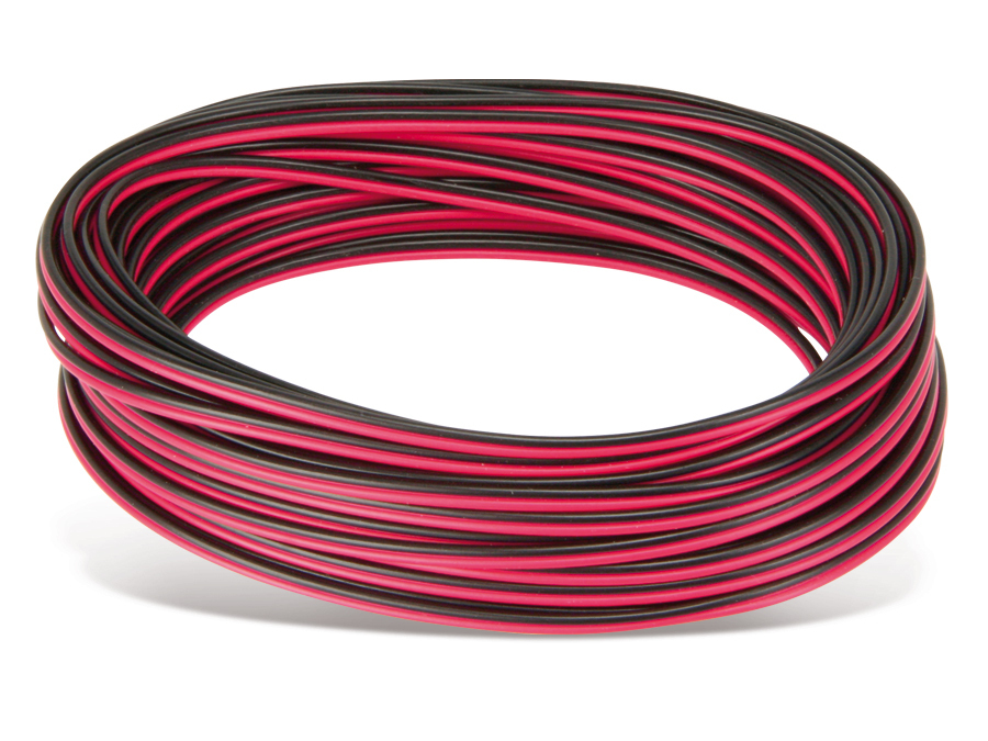 silikon zwillingslitze 2x1 0 mm hochflexibel rot rot. Black Bedroom Furniture Sets. Home Design Ideas
