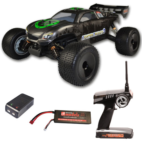 df models Fighter Truggy 3 Brushless RTR waterproof 1:10