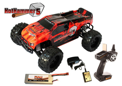 df models HotHammer 5 RTR 1:10XL Brushless Truck